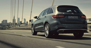 The Mercedes-Benz GLC in the City of Contradictions