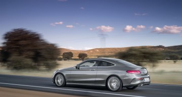 First official video Mercedes C-Class Coupe