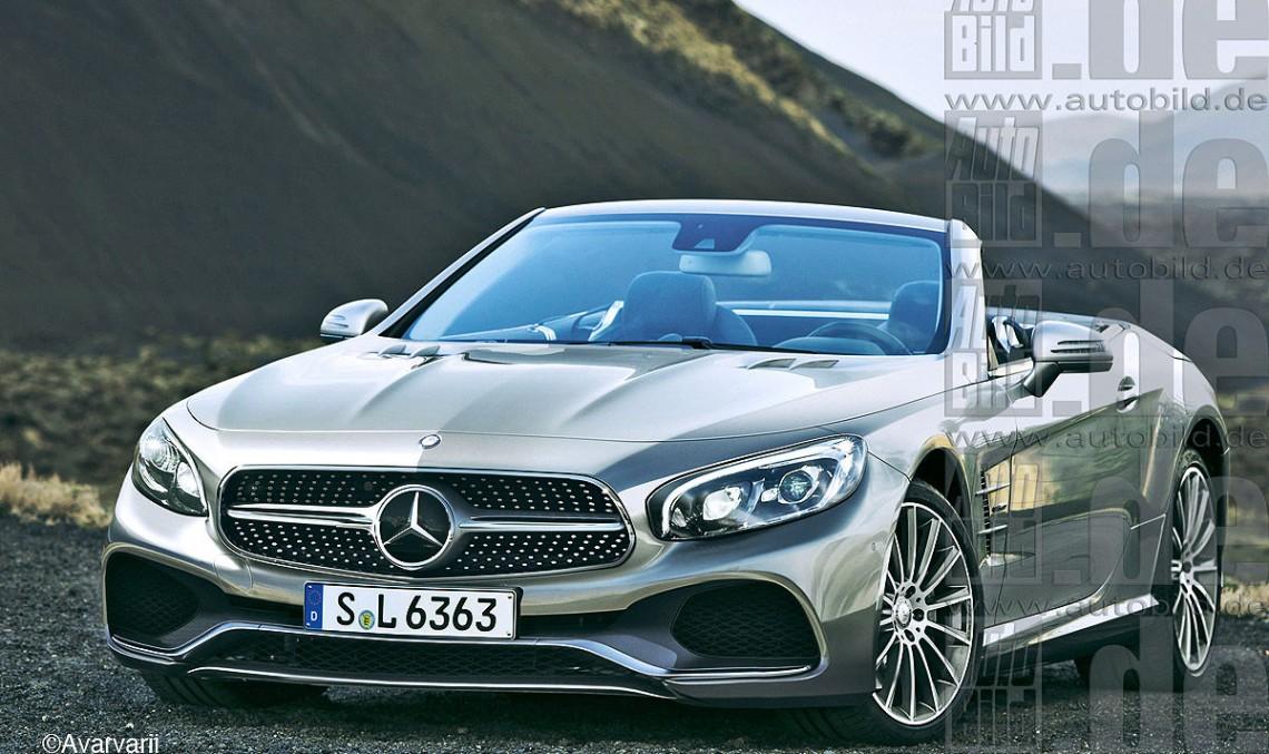 Mercedes SL/SLC facelift by AutoBild