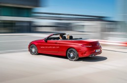 2016 C-Class Cabrio is here. All design secrets uncovered