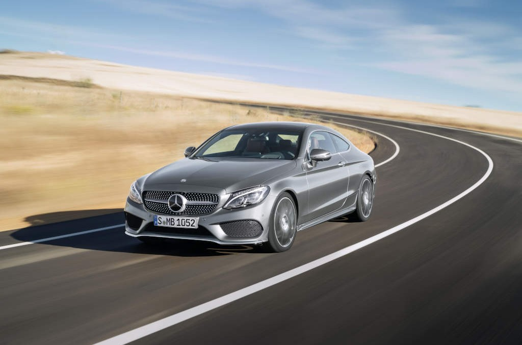 Fresh pictures: New C-Class Coupe seduces us with its beauty