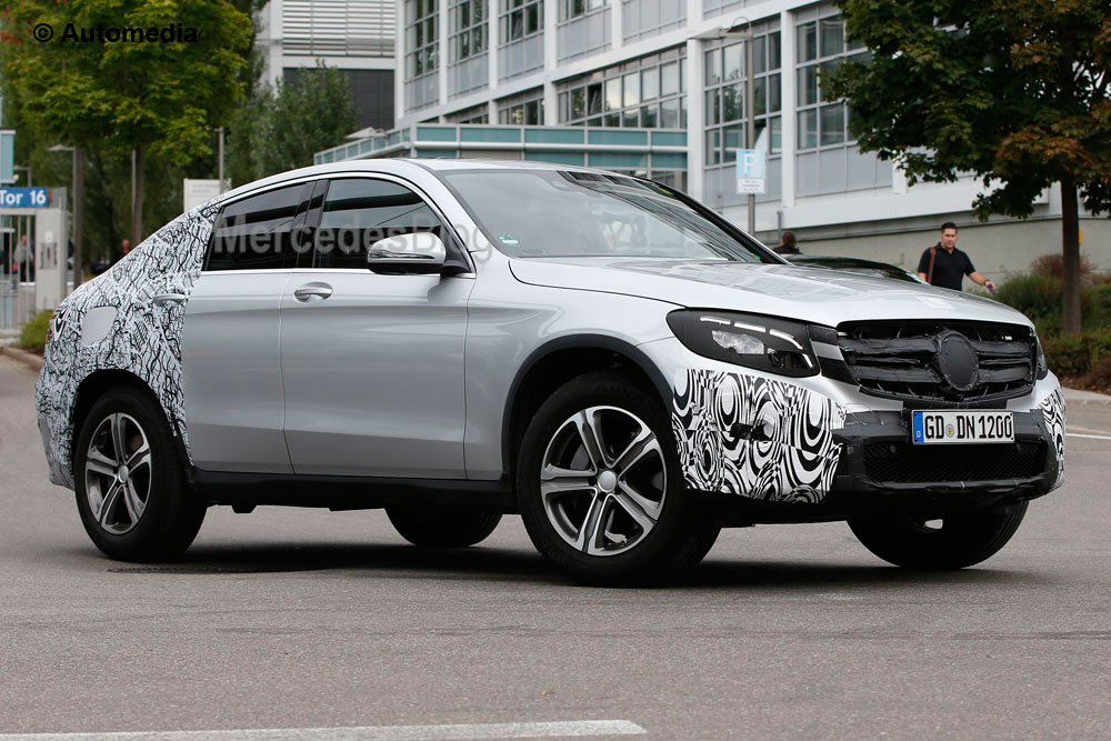 We reveal the all-new Mercedes-Benz GLC Coupe – latest spy pics