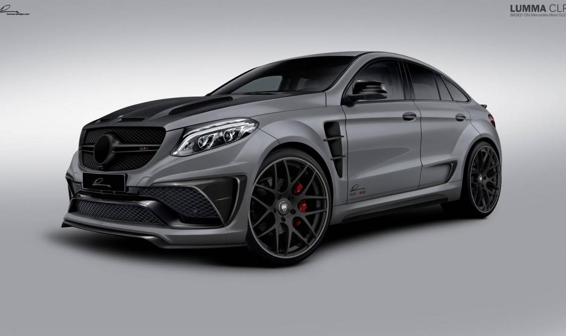 LUMMA CLR G 800 – The Mercedes GLE Coupe turning into a predator