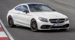 The dance of the ballerina on the racetrack: first video of the C 63 AMG Coupe