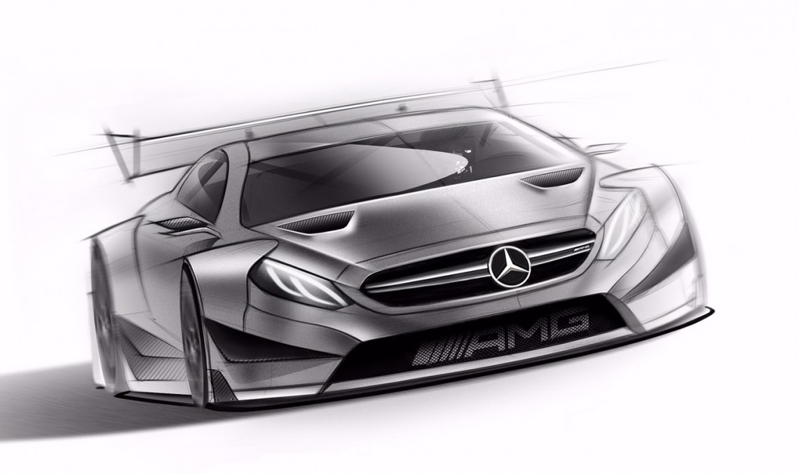 2016 Mercedes-AMG C 63 DTM car revealed in official sketches