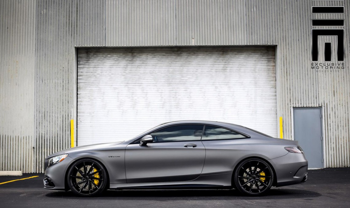 The delicate case of tuning a Mercedes-AMG S 63 Coupe