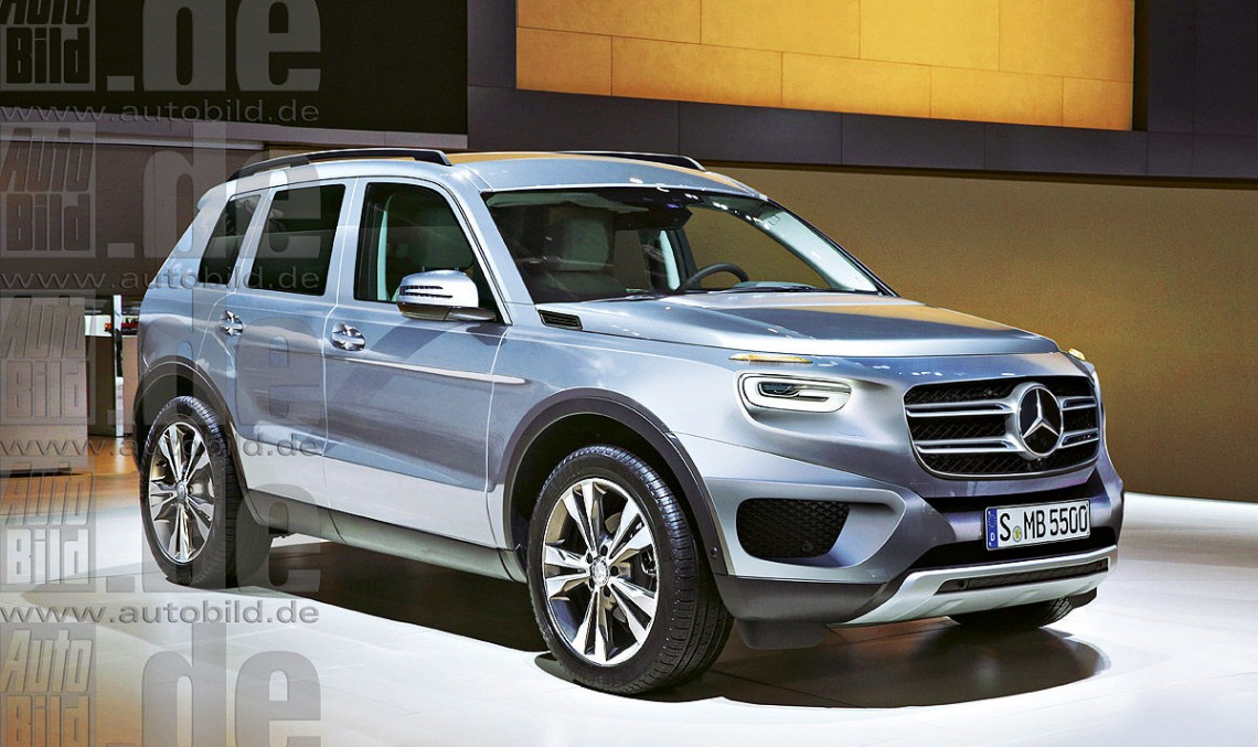 Mercedes-Benz GLB. Baby G-Class 7-seater here in 2019