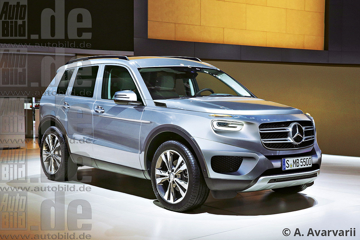 Noul Sprinter 2018 >> Mercedes-Benz GLB. Baby G-Class 7-seater here in 2019 - MercedesBlog