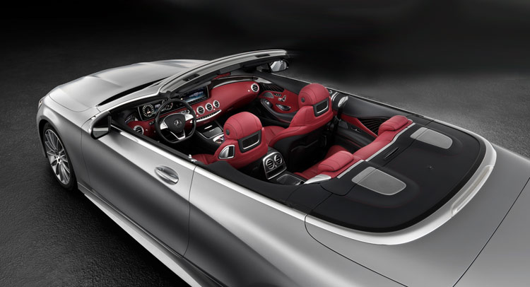 S-Class Cabrio interior revealed. Mercedes' biggest convertible ready to rock