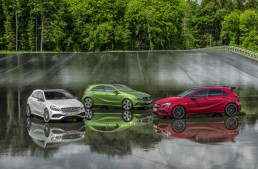 2016 A-Class facelift detailed in 83 fresh official photos