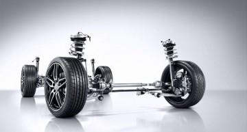 A-Klasse, 2015, Fahrwerk mit adaptiver Verstelldämpfung    /     A-Class, 2015, Suspension with Adaptive Damping system