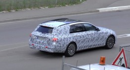 All-new 2016 E-Class T-Modell caught on video for the first time