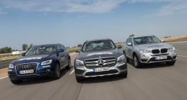 2016 Mercedes-Benz GLC vs BMW X3, Audi Q5. Which is the best?