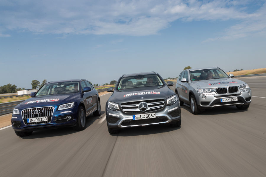 2016 Mercedes-Benz GLC vs BMW X3, Audi Q5. Which is the best?