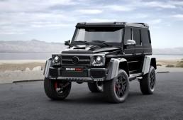 Brabus refines the Mercedes G 500 4×4²