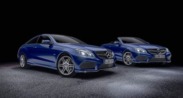 Special editions of the E-Class Coupe and E-Class Cabriolet