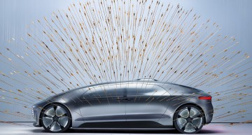 F015 Luxury in Motion – The futuristic car meets art