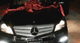 Kylie Jenner gives BFF convertible Mercedes for her birthday