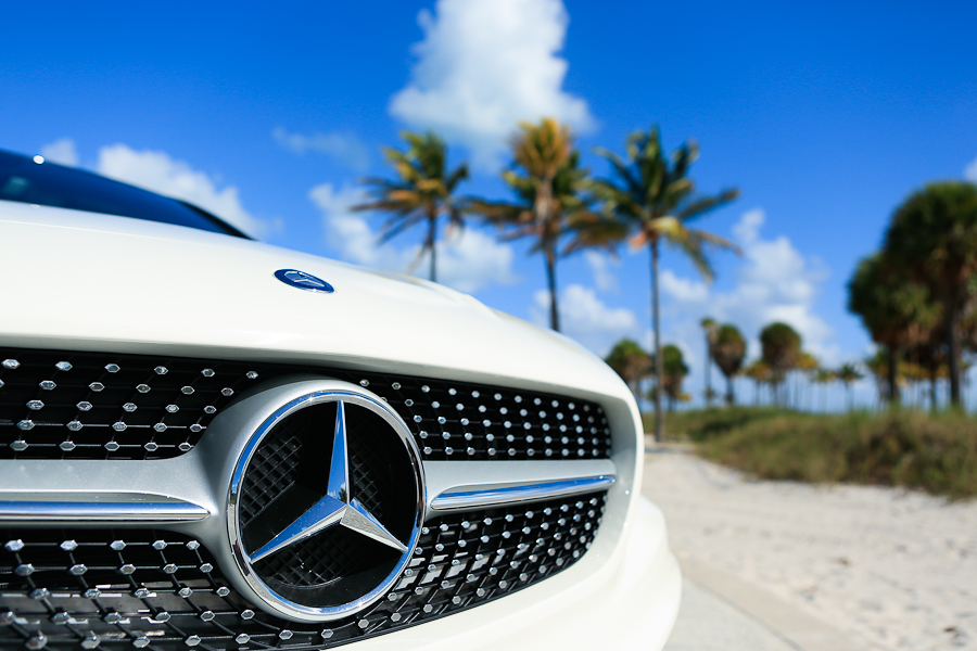 Florida Feel in a Mercedes-Benz CLA