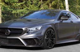 The 1000 HP Mansory bullet – S 63 Coupe Black Edition