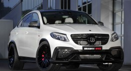 The hottest Mercedes GLE Coupe: Brabus 850 6.0 Biturbo 4×4 Coupe