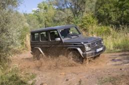 Adventure begins where roads end: the new Mercedes G-Class