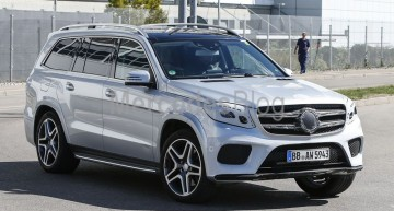 2017 Mercedes-Benz GLS revealed. New spy pictures