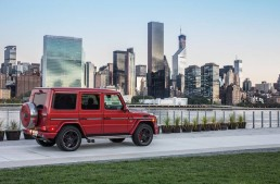 A G-Class in New York, the city that never sleeps