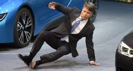 BMW has fallen! CEO collapses at IAA conference