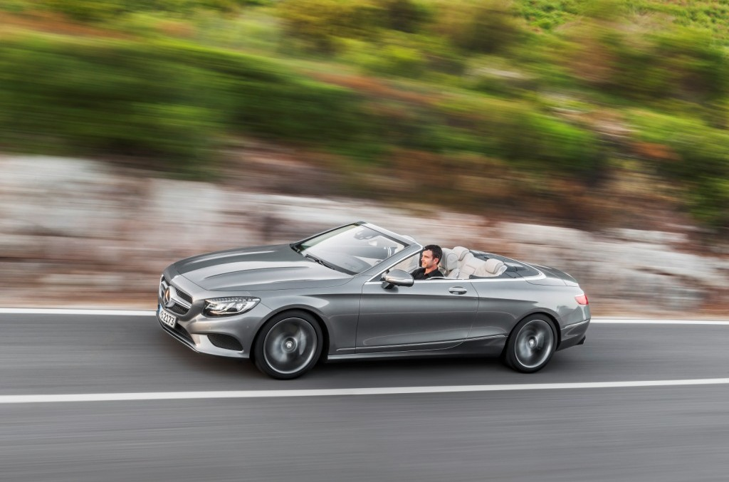 Official: full info about Mercedes S-Class Cabrio (with video)