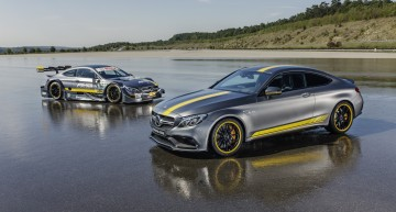 Mercedes-AMG C 63 Coupe Edition 1 is a thing of beauty