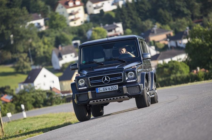 2015 Mercedes-AMG G 63 Edition 463 already driven