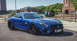 Plastic surgery: the Mercedes-AMG GT S by Prior Design