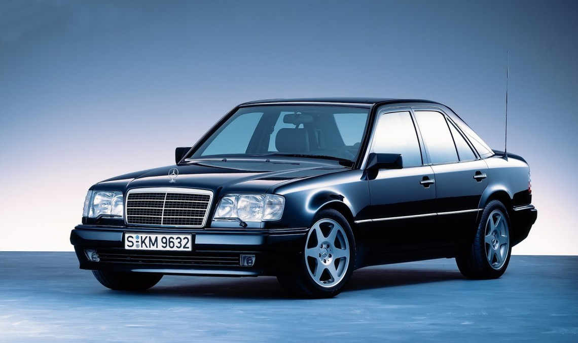 Legendary Mercedes-Benz 500 E celebrates its 25th anniversary