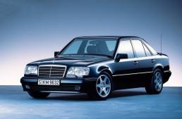 Legendary Mercedes-Benz 500 E celebrates its 25th anniversary