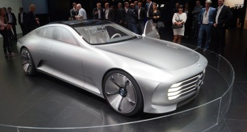 LIVE@IAA: Mercedes-Benz Concept IAA. A glimpse of CLS to come