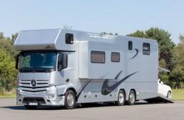 Vario Alkoven 1200 Mercedes-Benz RV can swallow your SLK