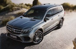 The Big Brother is here! 2017 Mercedes-Benz GLS leaked