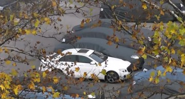 2017 Mercedes E-Class caught again on video in 100 copies