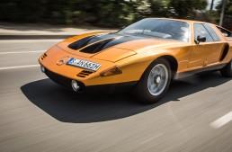 A dream come true half a century later – Driving the Mercedes-Benz C111-II