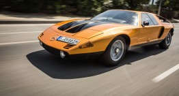 A dream come true half a century later – Driving the Mercedes-Benz C111-II