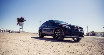Larger than life – the Mercedes GLE 450 AMG Coupe crosses the USA