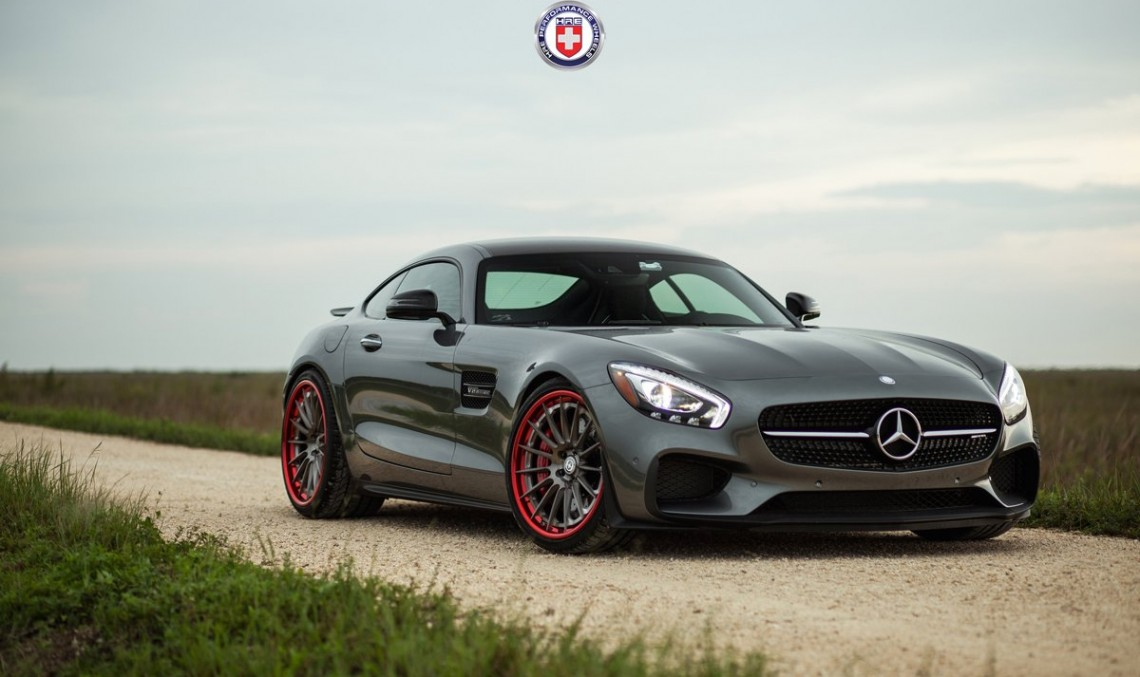 Anything goes well with it – Mercedes-AMG GT S with HRE wheels