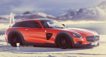 Mercedes-AMG GT Shooting Brake artist impression