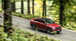 The newest Benz in town. Mercedes-Benz GLE 450 AMG 4Matic Coupe full test