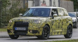 Mini Countryman sets its sights on the GLA – latest spy shots