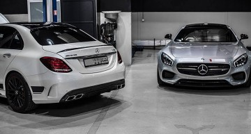 Mercedes-AMG GT S and C63 AMG by PP-Performance. Pretty powerful!