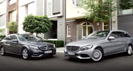 You can't crash the uncrashable car: Mercedes-Benz with Brake Assist PLUS