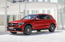 Could this be the hot new Mercedes GLC AMG super SUV?