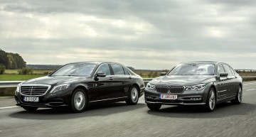 Exclusive: first comparison test Mercedes-Benz S 500 4Matic vs BMW 750 Li xDrive